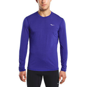 saucony Freedom - T-shirt manches longues running Homme - bleu